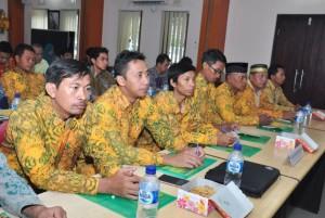 Rapat Kerja Daerah (Rakerda) LDII Denpasar di Kantor Kesbangpol Denpasar